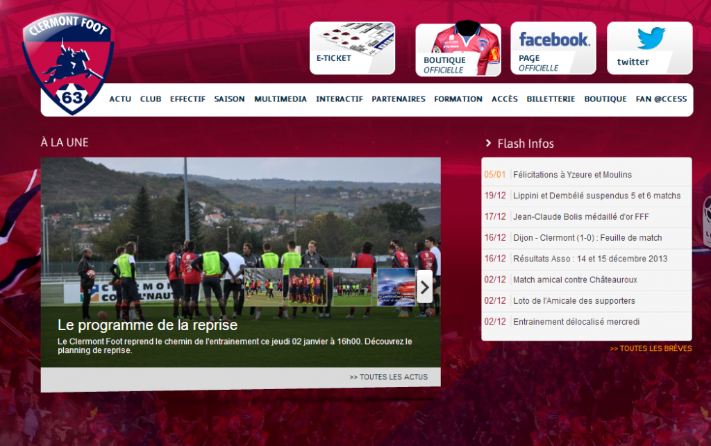 clermont foot facebook