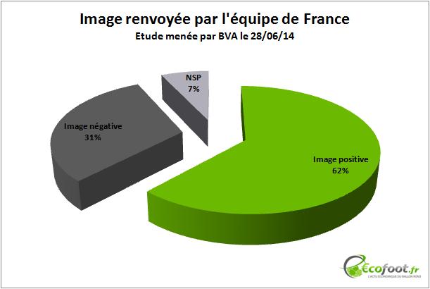 image renvoyée équipe de France