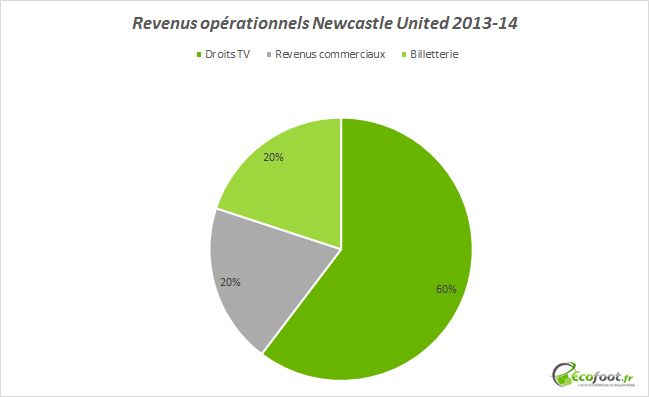 bilan financier newcastle united 2013-14