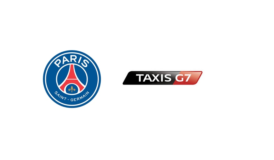 le psg signe un partenariat avec g7. Black Bedroom Furniture Sets. Home Design Ideas