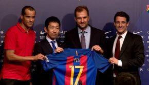 partenariat fc barcelone konami