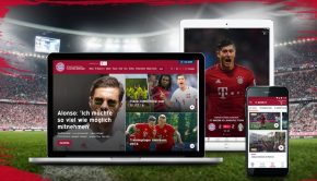 bayern munich refonte site officiel