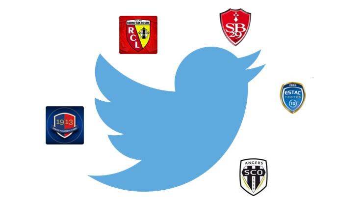 classement twitter ligue 2