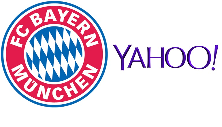 partenariat bayern yahoo