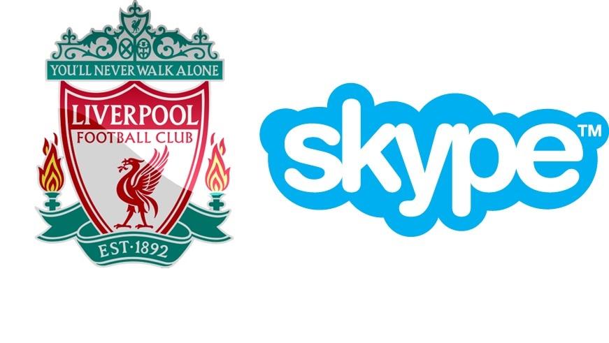 partenariat liverpool skype