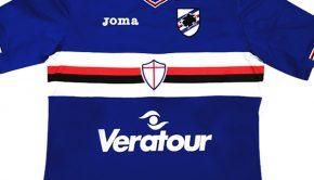sampdoria sponsoring maillot
