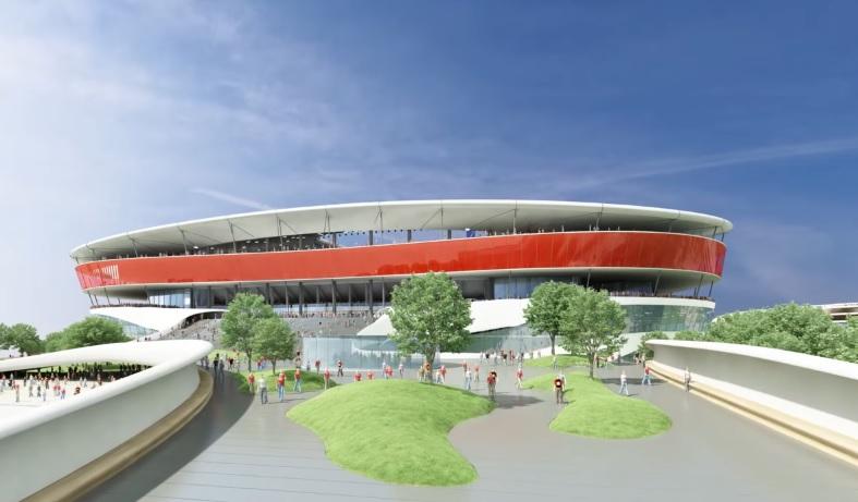 projet eurostadion bruxelles euro 2020