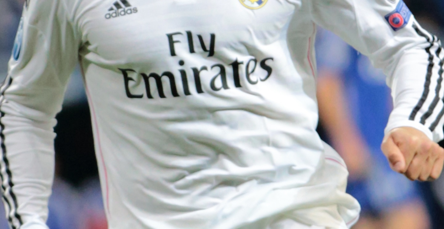 real madrid sponsor maillot emirates