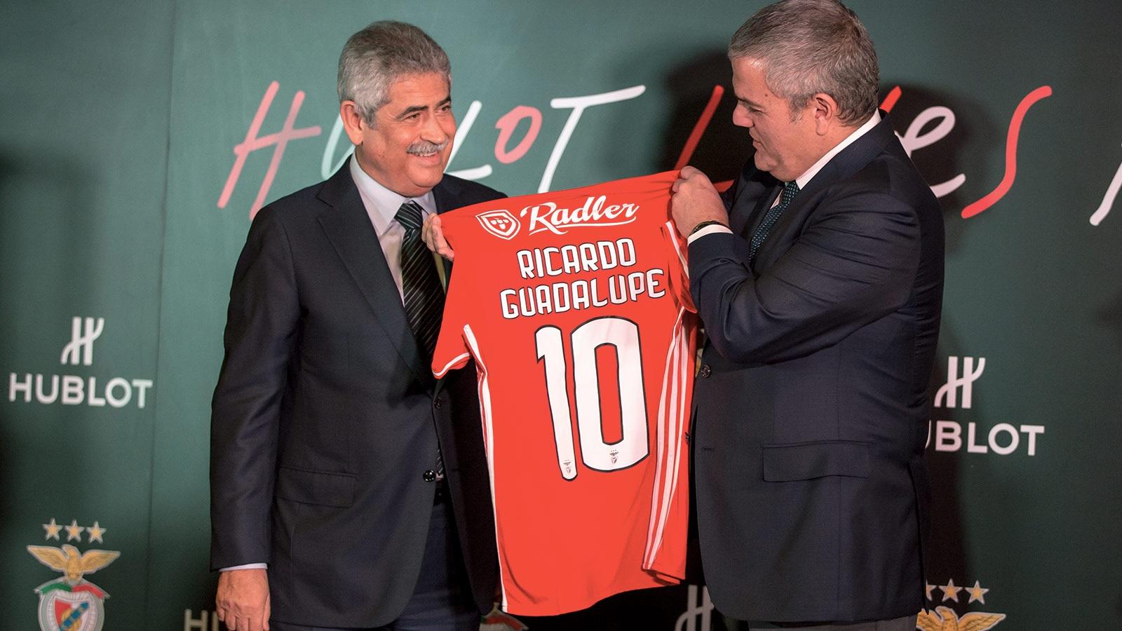 Benfica sponsoring hublot