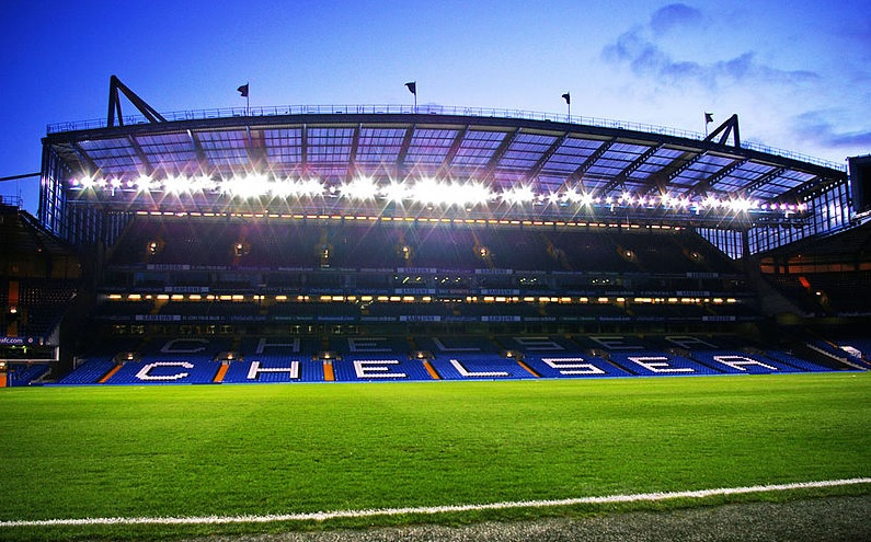 chelsea retard rénovation stamford bridge