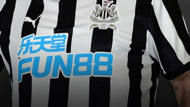 newcastle united sponsoring maillot
