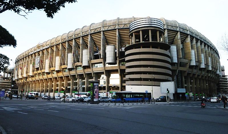 real madrid rénovation stade santiago bernabeu