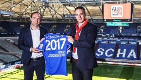 schalke 04 contrat sponsoring manche