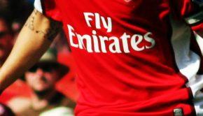 sponsor maillot arsenal