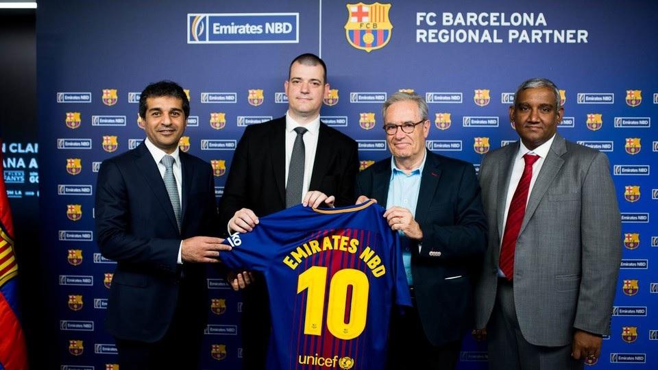 fc barcelone sponsoring emirates nbd