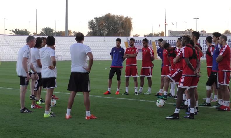 football géopolitique maroc