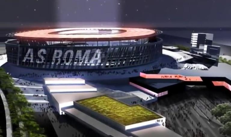 as roma projet nouveau stade