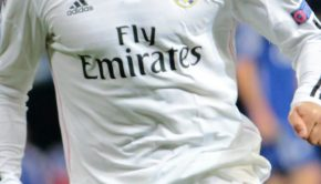real madrid sponsoring maillot prolongation emirates