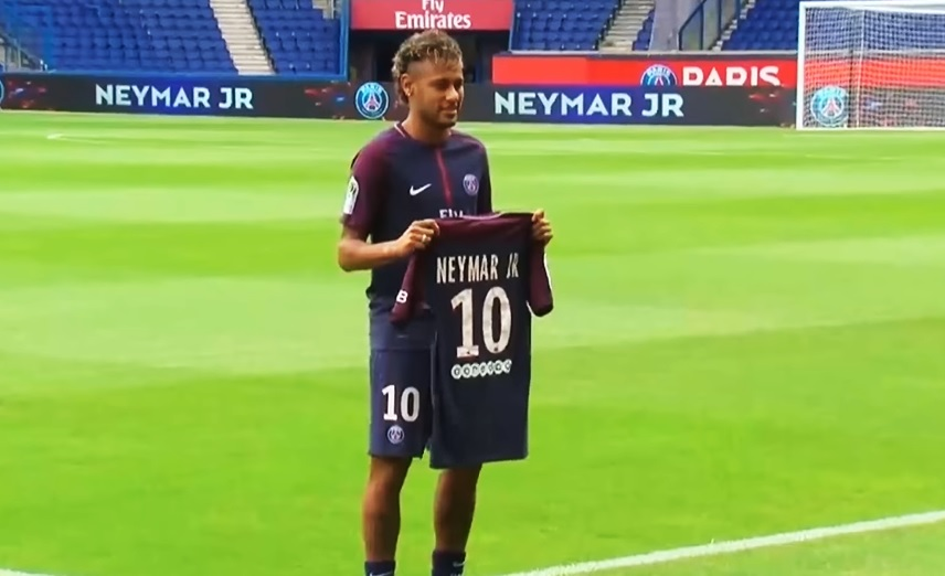 ventes maillots neymar jr