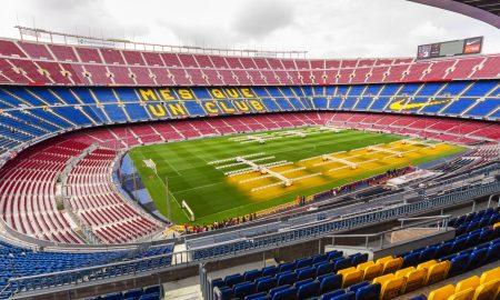 FC Barcelone naming camp nou