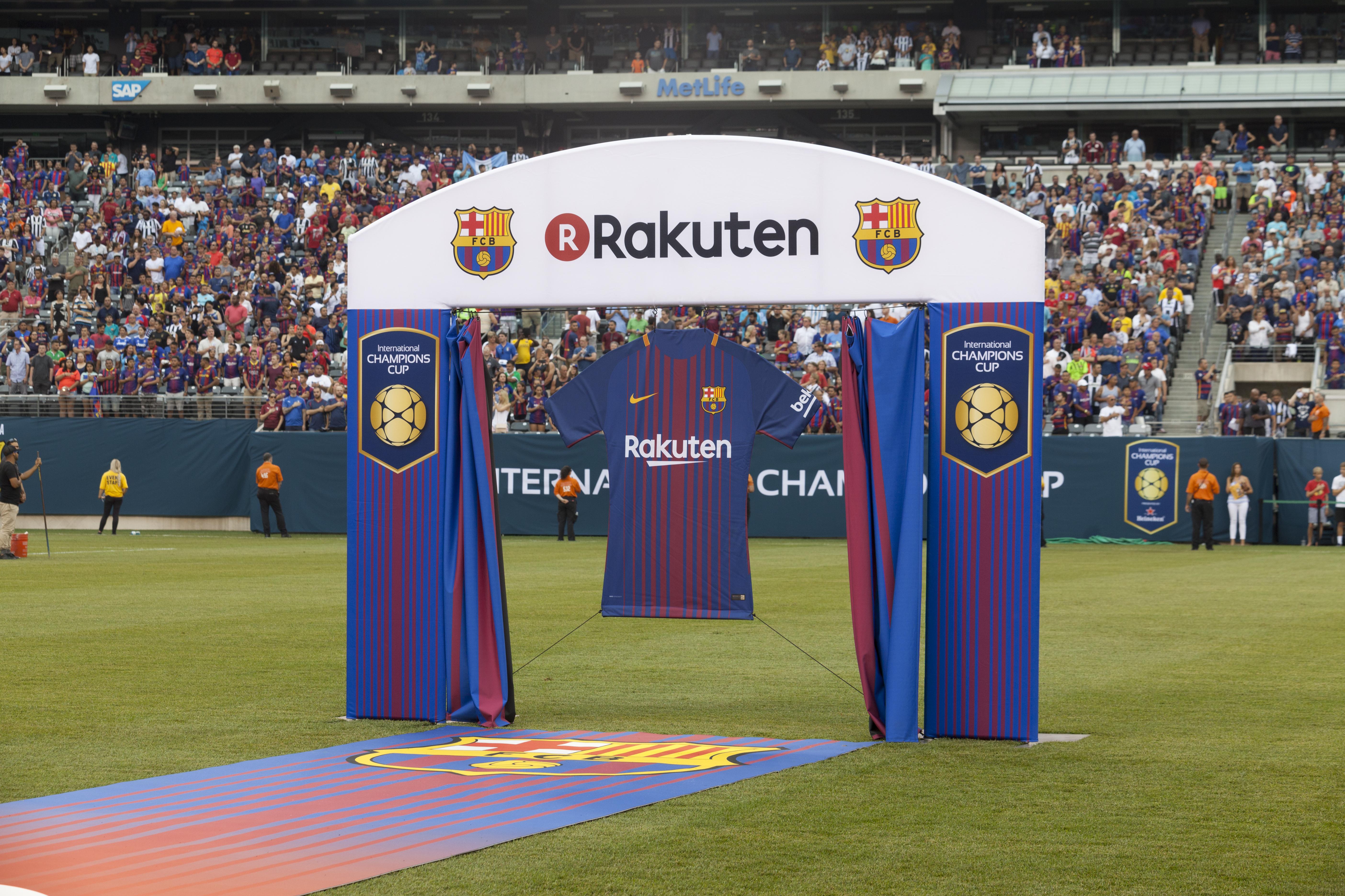 FC Barcelone sponsors