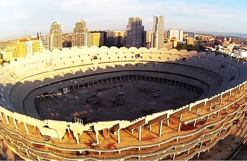 valencia cf projet stade nou mestalla