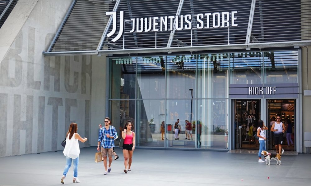 juventus stratégie merchandising