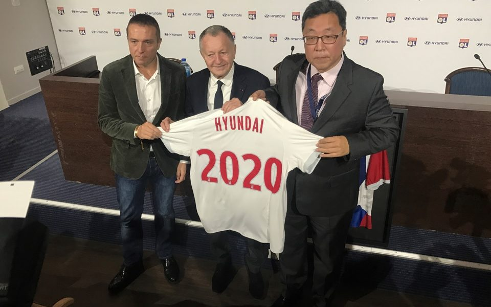 OL Hyundai prolongation partenariat