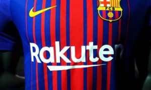 rakuten fc barcelone partenariat
