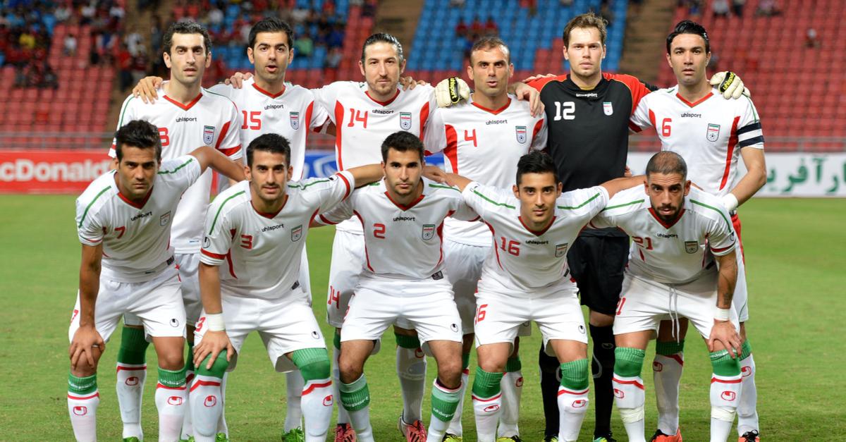 iran conflits politiques football