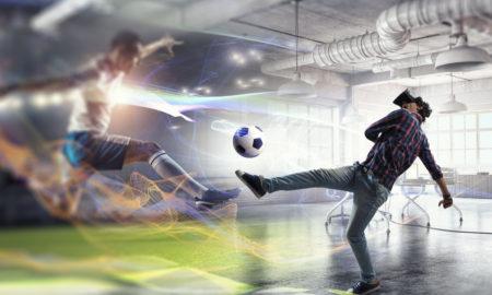 réalité virtuelle industrie footballistique