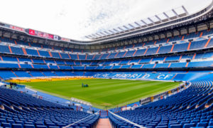 Real Madrid naming Santiago Bernabeu