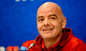 Infantino co-organisation coupe du monde 2022