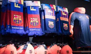 fc barcelone merchandising